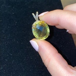 Gorgeous Gold/Yellow Gem for Necklace
